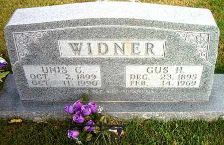 WIDNER, UNIS  C. - Boone County, Arkansas   UNIS  C. WIDNER - Arkansas Gravestone Photos