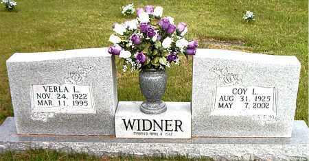 WIDNER, COY  L. - Boone County, Arkansas | COY  L. WIDNER - Arkansas Gravestone Photos