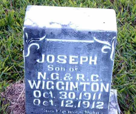 WIGGINTON, JOSEPH - Boone County, Arkansas   JOSEPH WIGGINTON - Arkansas Gravestone Photos