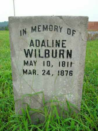 WILBURN, ADALINE - Boone County, Arkansas   ADALINE WILBURN - Arkansas Gravestone Photos