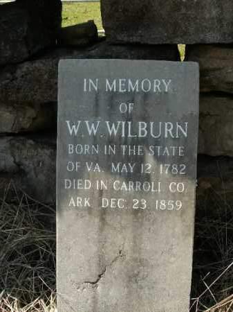 WILBURN, WILLIAM WARREN - Boone County, Arkansas | WILLIAM WARREN WILBURN - Arkansas Gravestone Photos