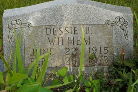WILHELM, DESSIE B. - Boone County, Arkansas | DESSIE B. WILHELM - Arkansas Gravestone Photos