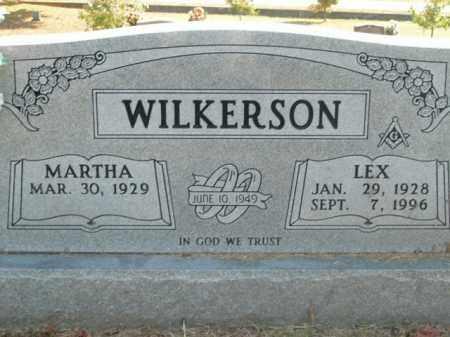WILKERSON, LEX - Boone County, Arkansas | LEX WILKERSON - Arkansas Gravestone Photos