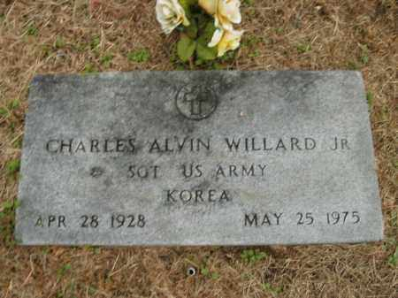 WILLARD, JR.  (VETERAN KOR), CHARLES ALVIN - Boone County, Arkansas | CHARLES ALVIN WILLARD, JR.  (VETERAN KOR) - Arkansas Gravestone Photos