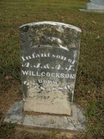 WILLCOCKSON, INFANT SON - Boone County, Arkansas | INFANT SON WILLCOCKSON - Arkansas Gravestone Photos