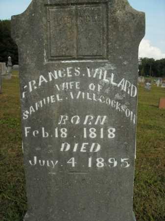 WILLCOCKSON, FRANCES WILLARD - Boone County, Arkansas   FRANCES WILLARD WILLCOCKSON - Arkansas Gravestone Photos