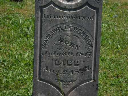 WILLCOCKSON, SAM - Boone County, Arkansas   SAM WILLCOCKSON - Arkansas Gravestone Photos
