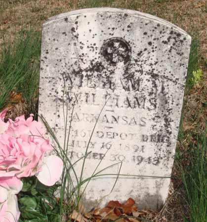 WILLIAMS  (VETERAN), WILLIAM M. - Boone County, Arkansas | WILLIAM M. WILLIAMS  (VETERAN) - Arkansas Gravestone Photos