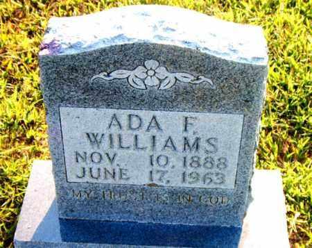 WILLIAMS, ADA F. - Boone County, Arkansas | ADA F. WILLIAMS - Arkansas Gravestone Photos