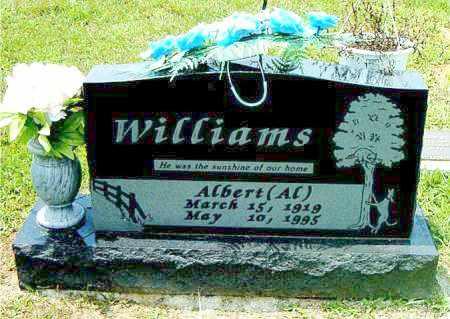 WILLIAMS, ALBERT   (AL) - Boone County, Arkansas   ALBERT   (AL) WILLIAMS - Arkansas Gravestone Photos