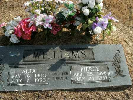 WILLIAMS, PIERCE - Boone County, Arkansas | PIERCE WILLIAMS - Arkansas Gravestone Photos