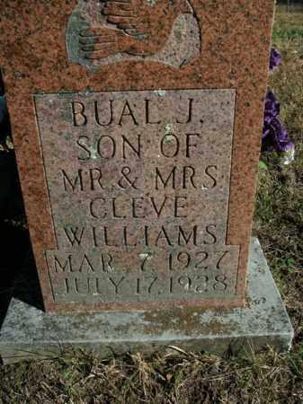 WILLIAMS, BUAL J. - Boone County, Arkansas | BUAL J. WILLIAMS - Arkansas Gravestone Photos