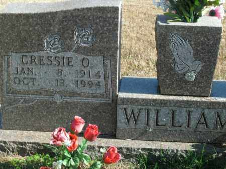 WILLIAMS, CRESSIE OMA - Boone County, Arkansas | CRESSIE OMA WILLIAMS - Arkansas Gravestone Photos