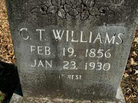 WILLIAMS, C.T. - Boone County, Arkansas   C.T. WILLIAMS - Arkansas Gravestone Photos