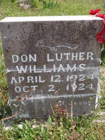 WILLIAMS, DON LUTHER - Boone County, Arkansas | DON LUTHER WILLIAMS - Arkansas Gravestone Photos