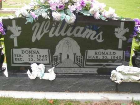 WILLIAMS, DONNA - Boone County, Arkansas | DONNA WILLIAMS - Arkansas Gravestone Photos