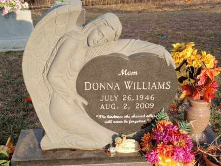 WILLIAMS, DONNA - Boone County, Arkansas   DONNA WILLIAMS - Arkansas Gravestone Photos