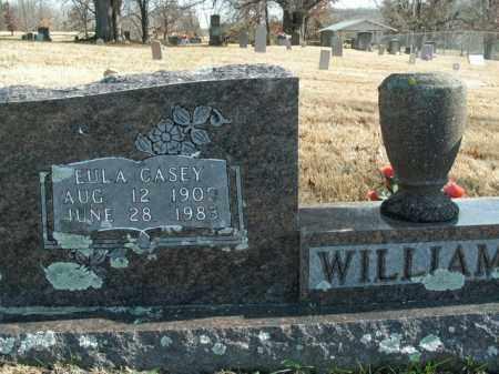 WILLIAMS, EULA CASEY - Boone County, Arkansas   EULA CASEY WILLIAMS - Arkansas Gravestone Photos