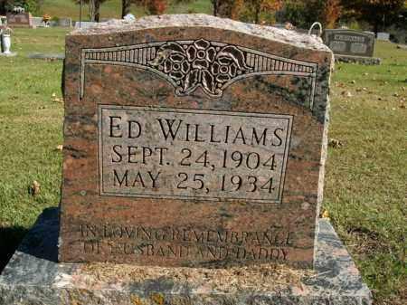 WILLIAMS, ED - Boone County, Arkansas | ED WILLIAMS - Arkansas Gravestone Photos