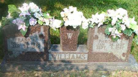 WILLIAMS, PHROMA  A. - Boone County, Arkansas | PHROMA  A. WILLIAMS - Arkansas Gravestone Photos