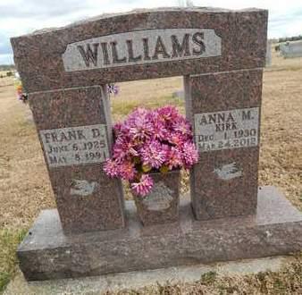 WILLIAMS, FRANK DEAN - Boone County, Arkansas | FRANK DEAN WILLIAMS - Arkansas Gravestone Photos