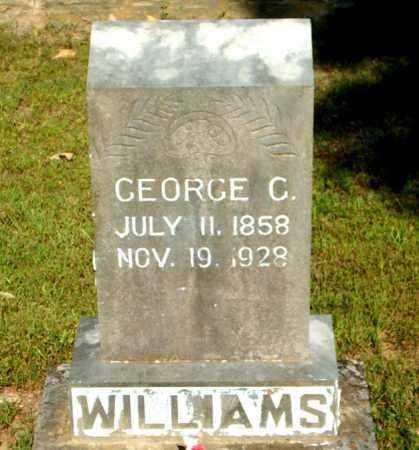 WILLIAMS, GEORGE C. - Boone County, Arkansas   GEORGE C. WILLIAMS - Arkansas Gravestone Photos