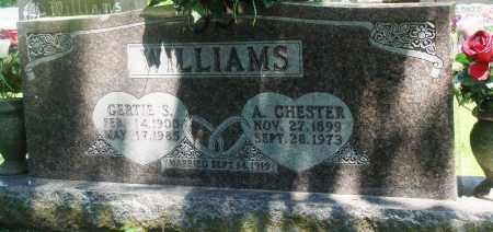 WILLIAMS, ARVIL CHESTER - Boone County, Arkansas | ARVIL CHESTER WILLIAMS - Arkansas Gravestone Photos