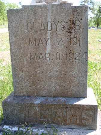WILLIAMS, GLADYS B. - Boone County, Arkansas   GLADYS B. WILLIAMS - Arkansas Gravestone Photos