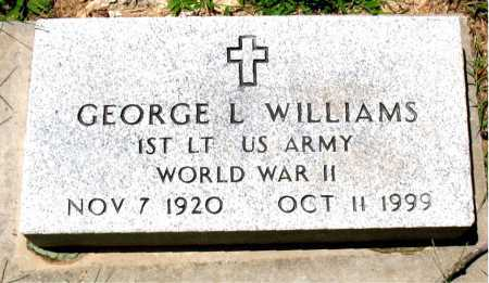 WILLIAMS  (VETERAN WWII), GEORGE L - Boone County, Arkansas | GEORGE L WILLIAMS  (VETERAN WWII) - Arkansas Gravestone Photos
