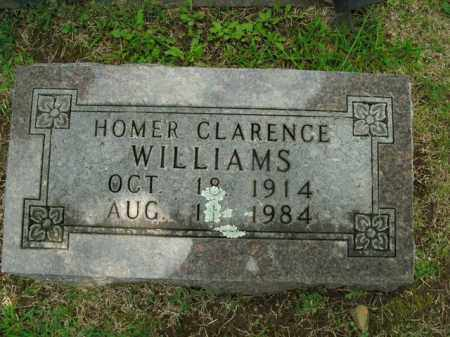 WILLIAMS, HOMER CLARENCE - Boone County, Arkansas   HOMER CLARENCE WILLIAMS - Arkansas Gravestone Photos