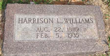 WILLIAMS, HARRISON L. - Boone County, Arkansas   HARRISON L. WILLIAMS - Arkansas Gravestone Photos
