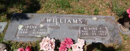 WILLIAMS, BLAINE T. - Boone County, Arkansas | BLAINE T. WILLIAMS - Arkansas Gravestone Photos