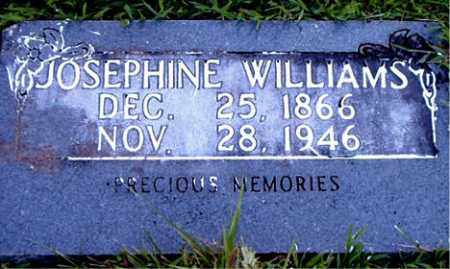 WILLIAMS, JOSEPHINE - Boone County, Arkansas | JOSEPHINE WILLIAMS - Arkansas Gravestone Photos