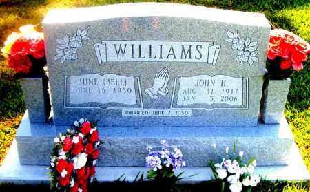 WILLIAMS, JOHN H. - Boone County, Arkansas | JOHN H. WILLIAMS - Arkansas Gravestone Photos
