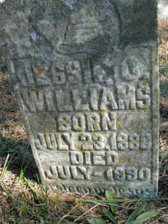 WILLIAMS, JESSIE O. - Boone County, Arkansas   JESSIE O. WILLIAMS - Arkansas Gravestone Photos