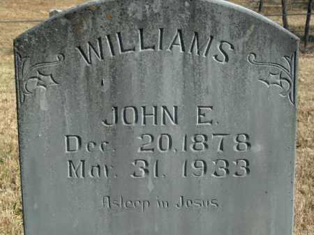 WILLIAMS, JOHN EDWARD - Boone County, Arkansas | JOHN EDWARD WILLIAMS - Arkansas Gravestone Photos