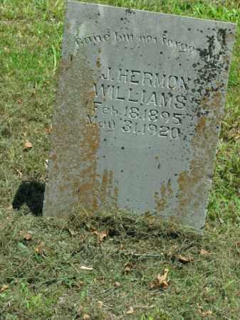 WILLIAMS, J. HERMON - Boone County, Arkansas | J. HERMON WILLIAMS - Arkansas Gravestone Photos