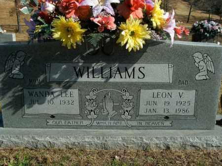 WILLIAMS, LEON V. - Boone County, Arkansas | LEON V. WILLIAMS - Arkansas Gravestone Photos