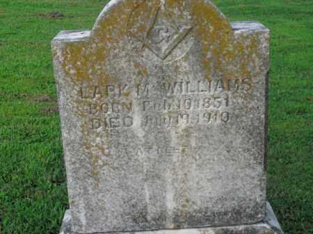 WILLIAMS, LARK M. - Boone County, Arkansas | LARK M. WILLIAMS - Arkansas Gravestone Photos