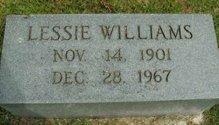 WILLIAMS, LESSIE - Boone County, Arkansas | LESSIE WILLIAMS - Arkansas Gravestone Photos