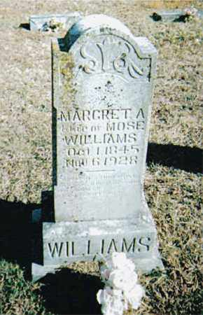 WILLIAMS, MARGRET  A. - Boone County, Arkansas | MARGRET  A. WILLIAMS - Arkansas Gravestone Photos