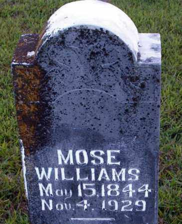WILLIAMS  (VETERAN CSA), MOSE - Boone County, Arkansas | MOSE WILLIAMS  (VETERAN CSA) - Arkansas Gravestone Photos