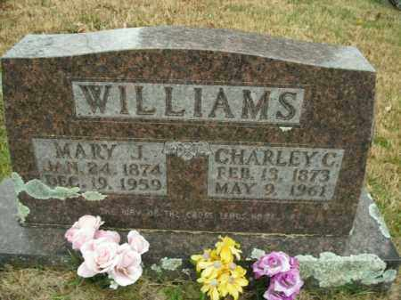 WILLIAMS, CHARLEY CALVIN - Boone County, Arkansas | CHARLEY CALVIN WILLIAMS - Arkansas Gravestone Photos