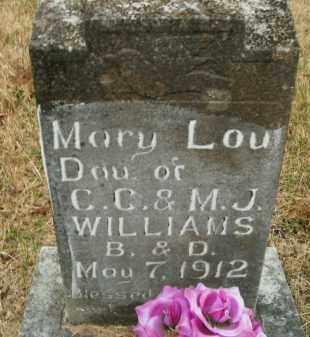 WILLIAMS, MARY LOU - Boone County, Arkansas | MARY LOU WILLIAMS - Arkansas Gravestone Photos