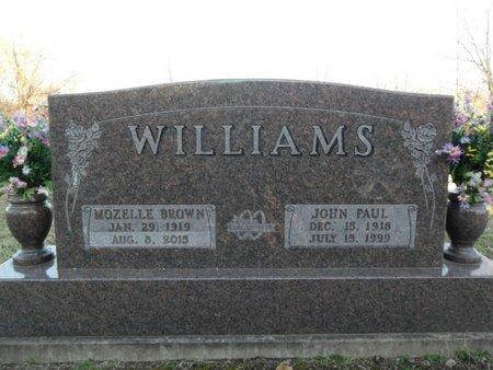 WILLIAMS, MOZELLE - Boone County, Arkansas | MOZELLE WILLIAMS - Arkansas Gravestone Photos