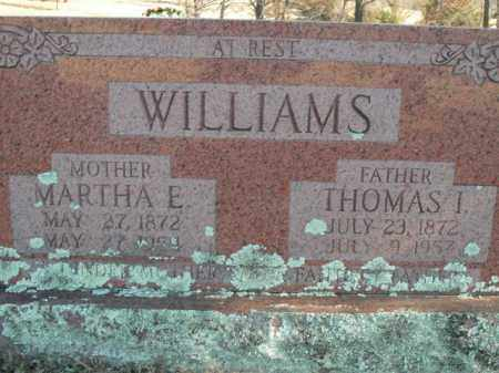 WILLIAMS, THOMAS ISAAC - Boone County, Arkansas   THOMAS ISAAC WILLIAMS - Arkansas Gravestone Photos