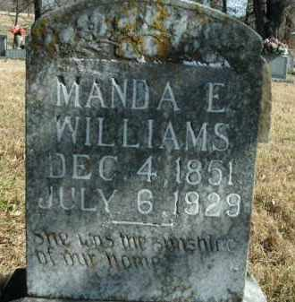 "WILLIAMS, AMANDA ELIZABETH ""MANDA"" - Boone County, Arkansas 