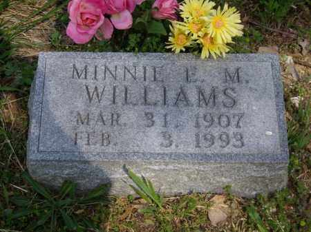 WILLIAMS, MINNIE L. M. - Boone County, Arkansas   MINNIE L. M. WILLIAMS - Arkansas Gravestone Photos