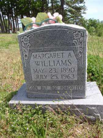 WILLIAMS, MARGARET A. - Boone County, Arkansas | MARGARET A. WILLIAMS - Arkansas Gravestone Photos