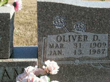 WILLIAMS, OLIVER DENVER - Boone County, Arkansas   OLIVER DENVER WILLIAMS - Arkansas Gravestone Photos